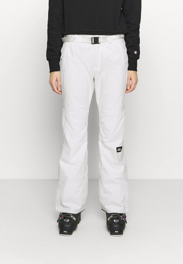 STAR SLIM PANTS - Schneehose - powder white