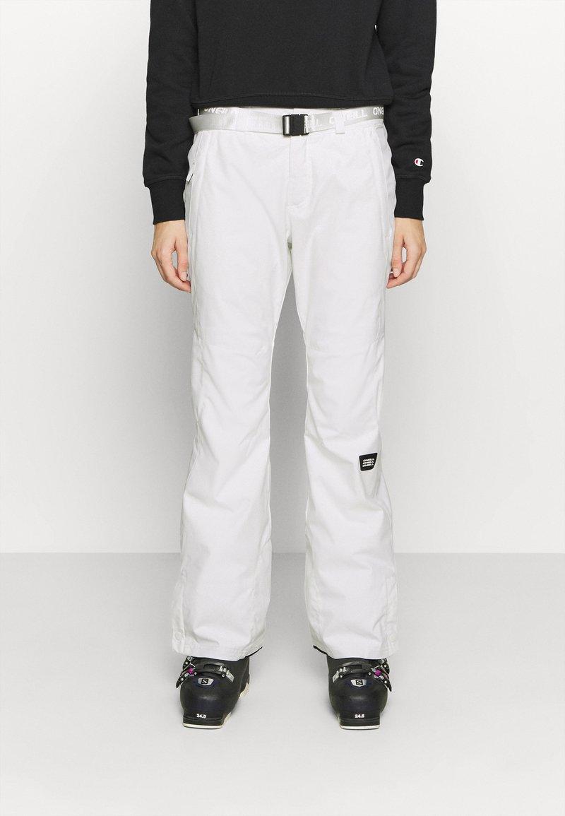 O'Neill - STAR SLIM PANTS - Schneehose - powder white
