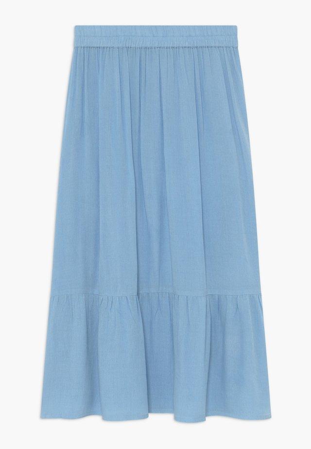 OTTILIE - Maxi skirt - blue