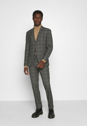 SLHSLIM MYLOLOGAN SUIT - Suit - grey/brown