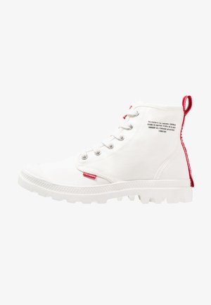 PAMPA HI DARE - Lace-up ankle boots - star white