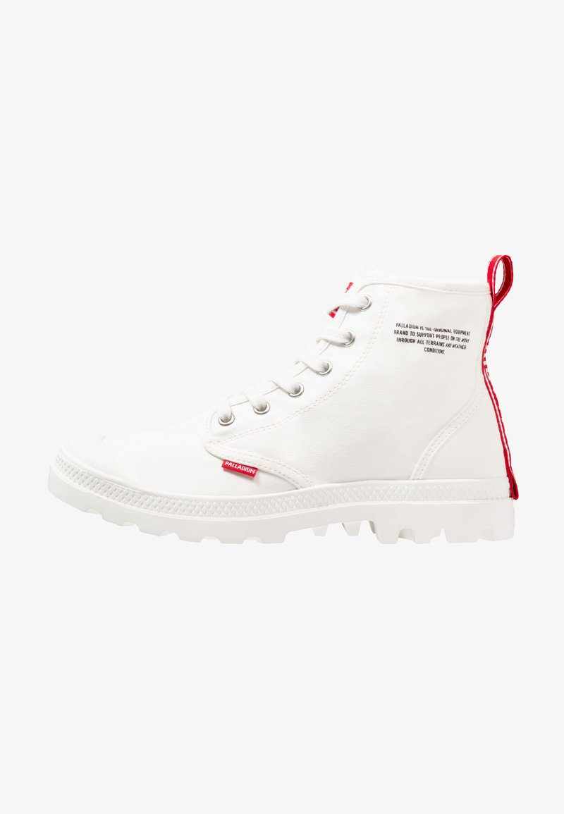 Palladium - PAMPA HI DARE UNISEX - Lace-up ankle boots - star white
