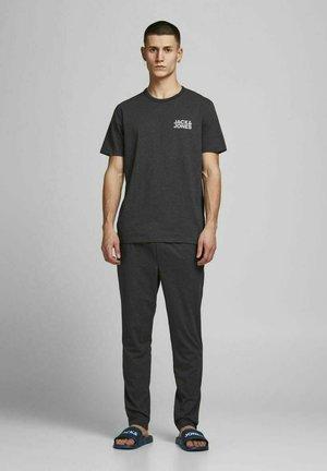 Pyjama set - dark grey melange