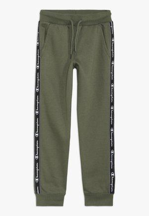 AMERICAN CLASSICS PIPING CUFF PANTS - Teplákové kalhoty - khaki
