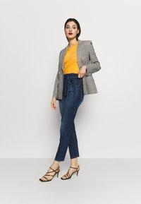 7 for all mankind - PAPERBAG PANT - Slim fit jeans - dark blue - 1