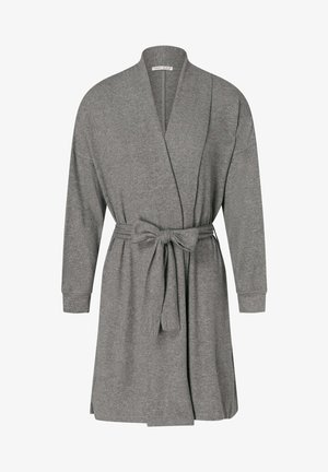 SOFT FEEL - Dressing gown - dark grey