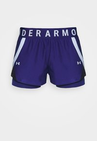 Under Armour - PLAY UP SHORTS - Pantaloncini sportivi - blue - 4