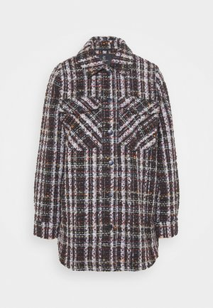 ISABELLE LINDIE JACKET - Classic coat - black/brown