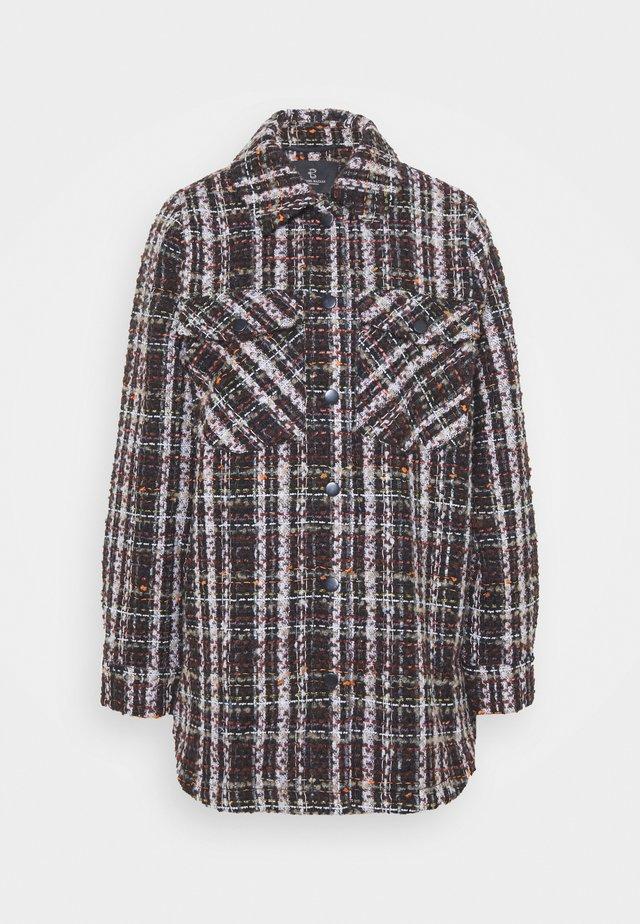 ISABELLE LINDIE JACKET - Classic coat - black/brown
