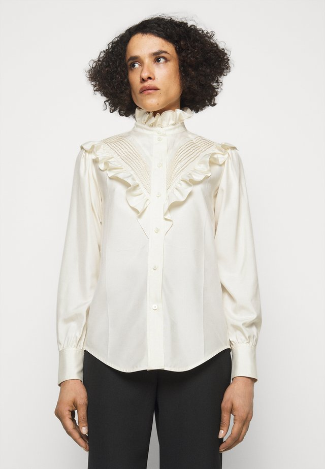 VICTORIAN DETAIL BLOUSE - Chemisier - off white