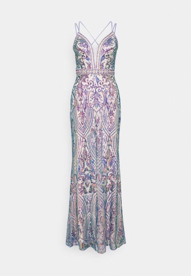 Suknia balowa - multicolour
