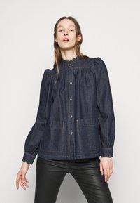 WEEKEND MaxMara - VOCIARE - Button-down blouse - nachtblau - 0