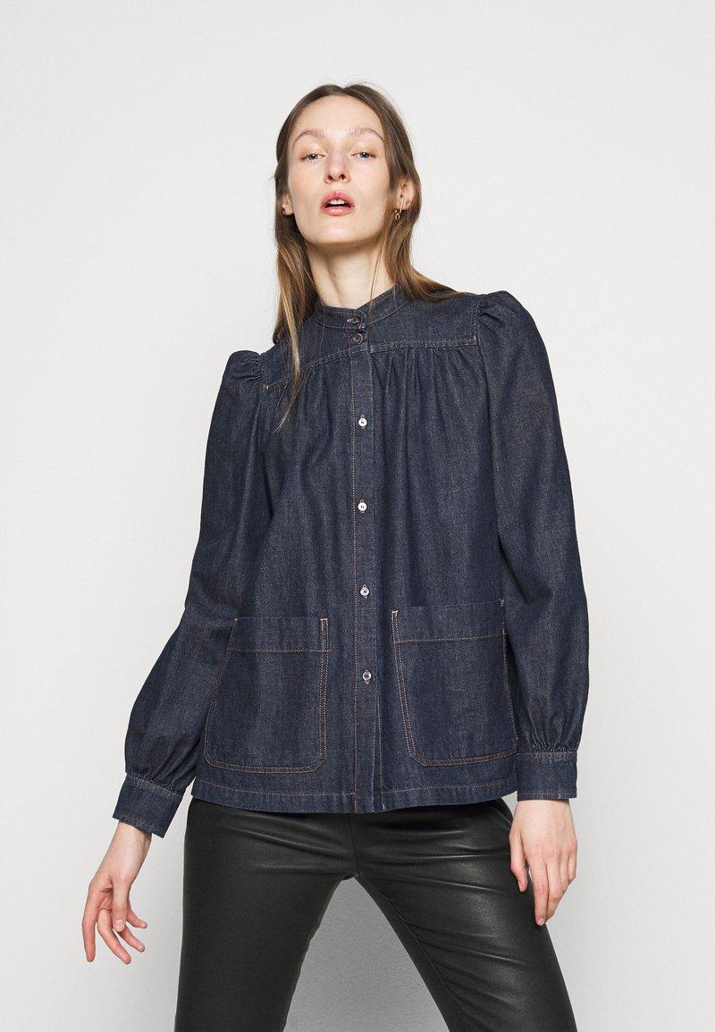 WEEKEND MaxMara - VOCIARE - Button-down blouse - nachtblau