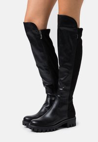 Tamaris - BOOTS - Over-the-knee boots - black - 0