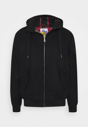 TAYLOR HOODED - Bomber Jacket - black