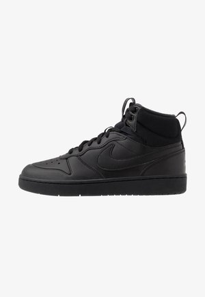 COURT BOROUGH MID  - Höga sneakers - black