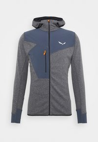 Salewa - PUEZ DRY HOOD - Outdoorová bunda - black out melange - 3
