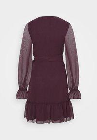 Gina Tricot - JULIANNA WRAP DRESS - Cocktail dress / Party dress - winetasting - 7