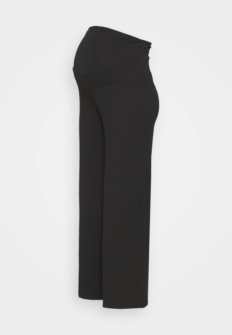 Anna Field MAMA - Trousers - black