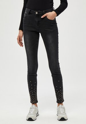 ENIA - Jeans Skinny Fit - black washed