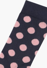 Ewers - PUNKTE/UNI/RINGEL 6 PACK - Socks - blue/pink - 3