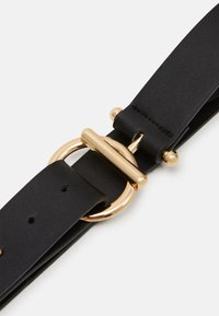 Pieces - PCBINNA WAIST BELT - Waist belt - black/gold-coloured - 2