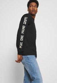 Dickies - WILLERNIE TEE - Long sleeved top - black - 3