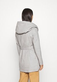 ONLY - ONLCANE COAT - Abrigo corto - light grey melange - 2