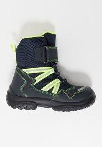 Superfit - SNOWCAT - Winter boots - blau/gelb - 1