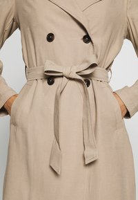 Dorothy Perkins - BUTTON FRONT - Trench - stone - 7