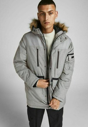JJEGLOBE - Winter jacket - light grey melange