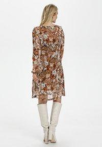Cream - Day dress - vintage rose print - 1