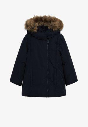 Vinterjakke - dunkles marineblau