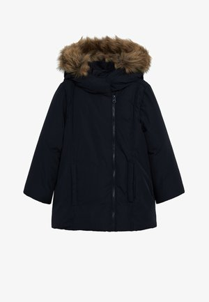 Zimní bunda - dunkles marineblau