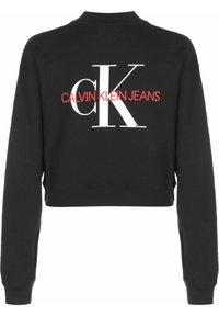 Calvin Klein Jeans - BOYFRIEND - Sweatshirt - ck black - 1