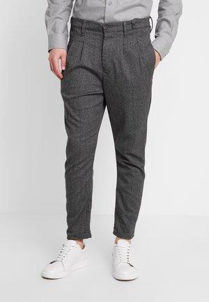 FIRENZE HERRING PANTS - Trousers - grey coal