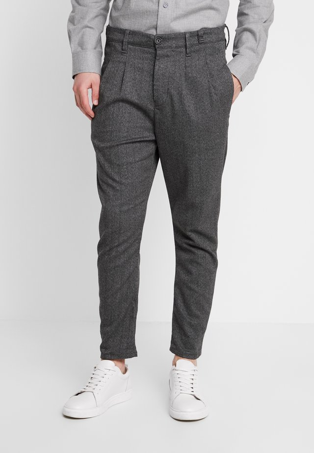 FIRENZE HERRING PANTS - Pantaloni - grey coal