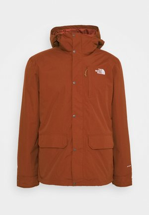 PINECROFT TRICLIMATE JACKET 2-in-1 - Hardshelljacka - brown