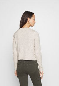 Even&Odd - CROPPED JUMPER - Svetr - beige - 2