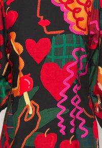Farm Rio - LOVERS APPLE MINI DRESS - Day dress - multi - 2