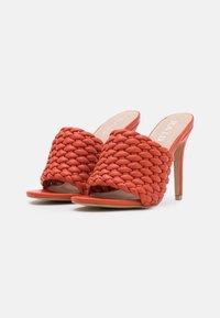 RAID - TANYA - Heeled mules - tangerine - 2