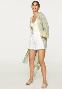 OYSHO - Summer jacket - turquoise - 1
