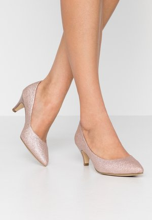 Klassiske pumps - rose glam