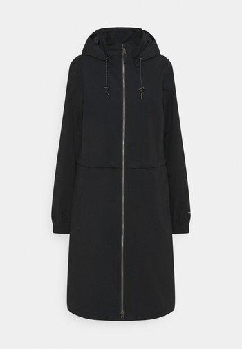 FIRWOOD™ LONG JACKET - Waterproof jacket - black