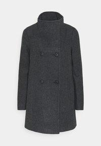 Vero Moda Petite - VMCLASSLINE JACKET - Manteau classique - dark grey melange - 5