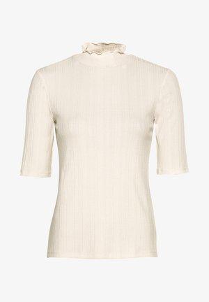 AUS LENZING™-ECOVERO™ - T-Shirt basic - creme