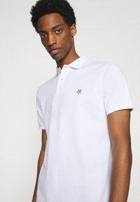 Marc O'Polo - SHORT SLEEVE BUTTON - Polo shirt - white - 3