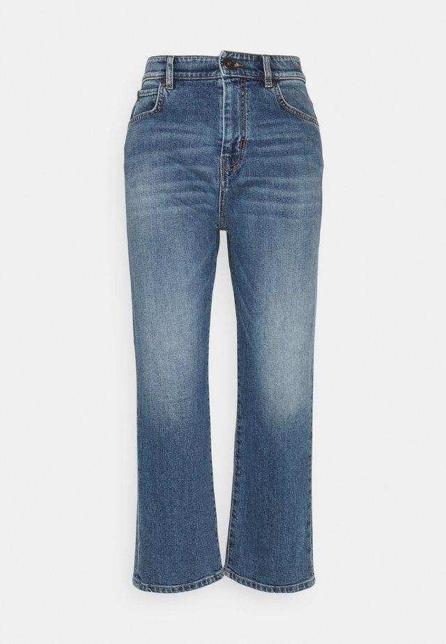RISORSA - Straight leg jeans - blue