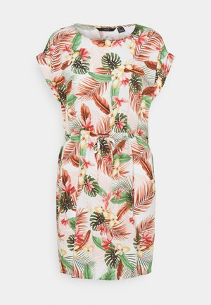 VMSIMPLY EASY TIE SHORT DRESS - Day dress - birch/selma