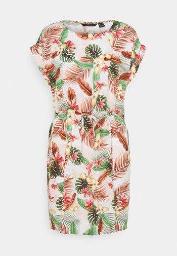 VMSIMPLY EASY TIE SHORT DRESS - Kjole - birch/selma